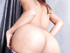 Sweet Asian ladyboy Ola loves to get fucked! Ramon delivers a hardcore pounding on that ladyboy pussy!