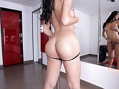 Renata Araujo is the kind of slut that just wants nothing but her ass-hole stretched and fucked.She's always fantasized about getting a cock big enough to take her sexual experience to another level.This is where The Monstercock man himself, Ramon comes i