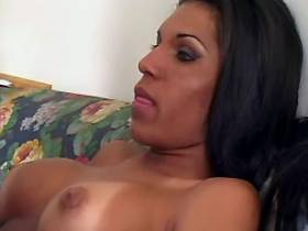 Dirty exotic tranny rips up guys tight butt hole
